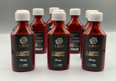 TKO Delta-8 Syrup 200mg-Cherry