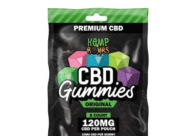 hemp bombs CBD original Gummies 8ct 120mg