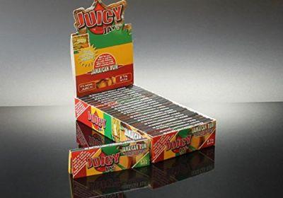 Juicy Jay's Hemp Rolling Papers 1 1/4 - Jamaican Rum Flavored