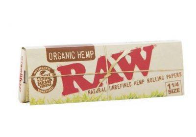 RAW Organic Hemp 1¼ Size Rolling Papers