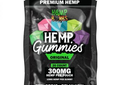 Hemp Bomb Gummies 20-Count-15mg