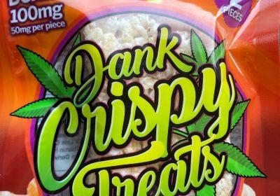Delta 8 Dank Crispy Treats by Twisted