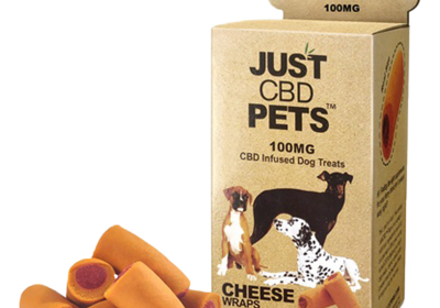 CBD for dogs-Cheese Wraps-Just CBD