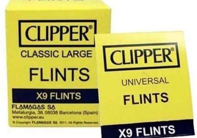 Clipper Flints x9 Flints