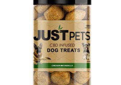 Just Pets CBD Dog Treats