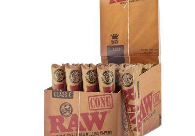 RAW Organic Hemp 1¼ Cones (price is for 1)