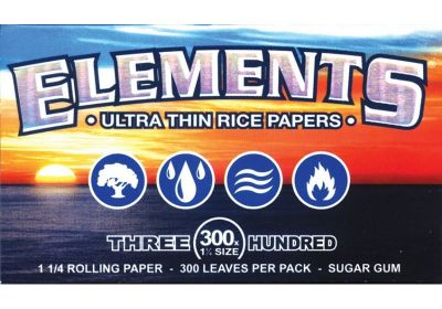 Elements 300 Count 1 1/4 Rolling Papers