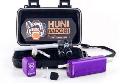 huni badger vaporizer kit purple