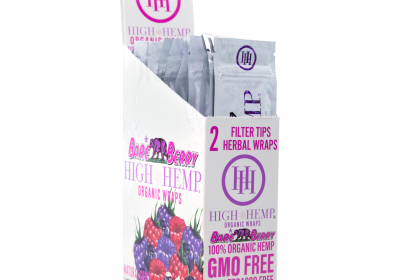 High Hemp Wraps - Bare Berry