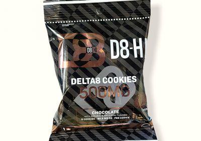 Delta 8 Cookies-Chocolate-D8-Hi