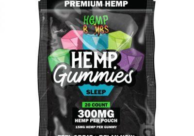 hemp bombs CBD sleep Gummies 20 ct 300mg