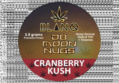 Moon Rock-Delta 8-cranberru Kush-3.5 gms