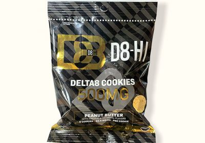 Delta 8 Cookies-Peanut Butter-D8-Hi
