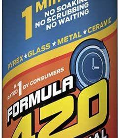 FORMULA 420 CLEANER - GLASS. METAL & CERAMIC CLEANSER [12 FL OZ]